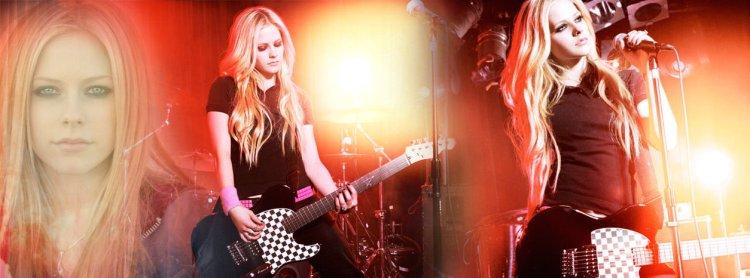Avril Lavigne Banner