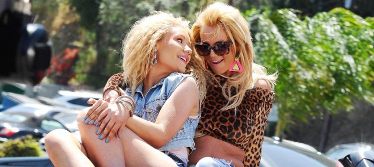 Britney Spears & Iggy Azalea Banner