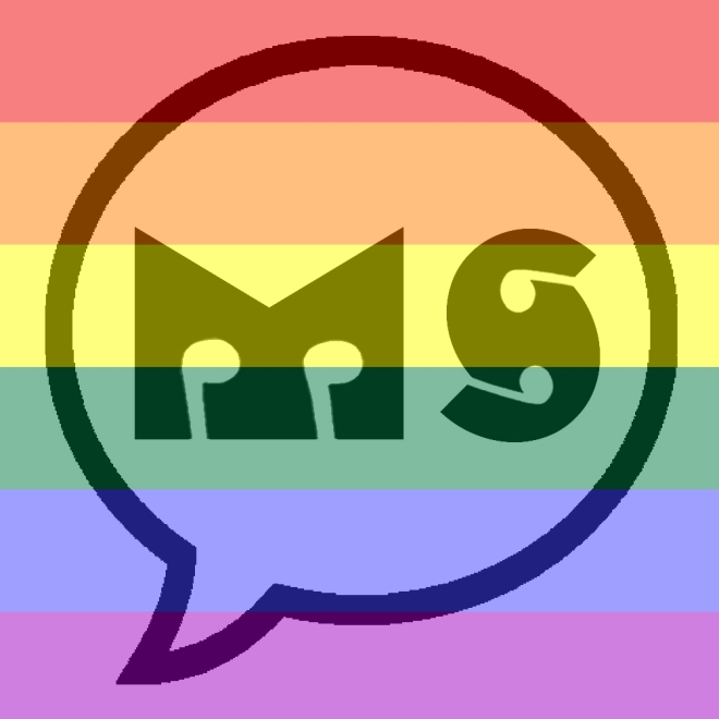 Muzik Speaks Logo - Pride